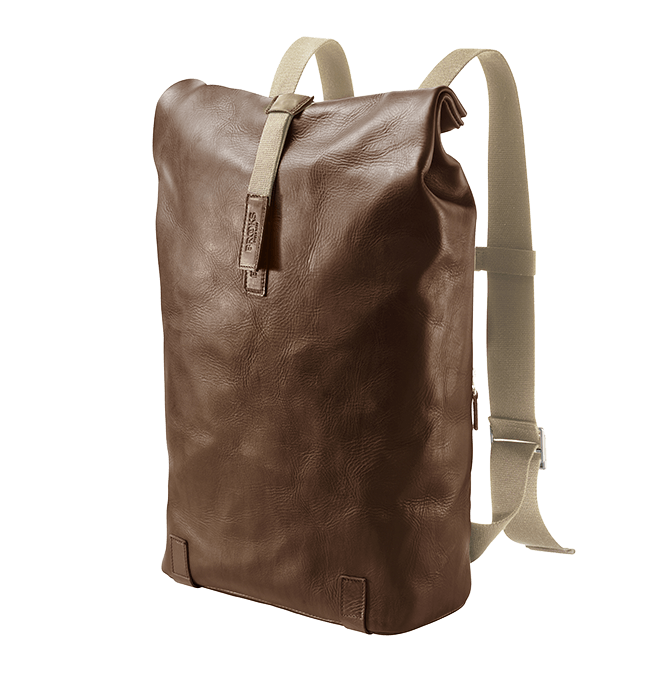 Brooks - Leather Backpack 26l - Tan Brown