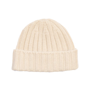 Cashmere Cap - Ivory