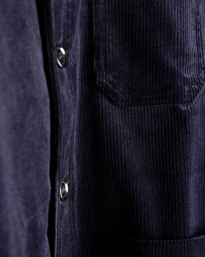 Corduroy Workwear No.4 Jacket - Navy