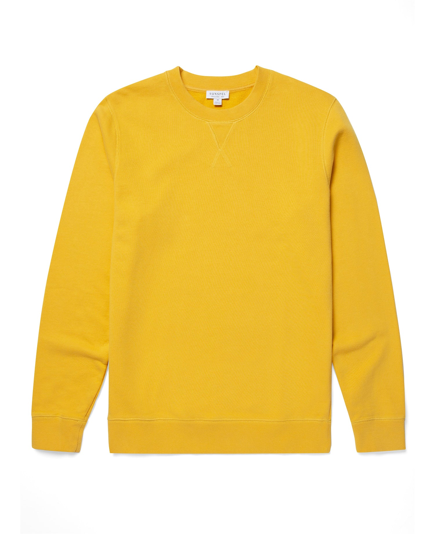 Cotton Loopback Sweatshirt - Booth Ochre