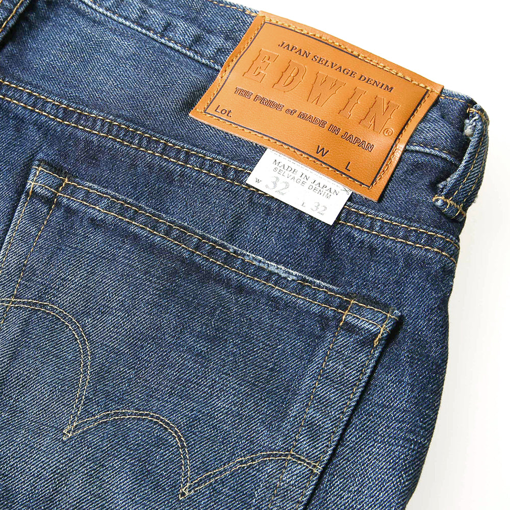 Edwin - E-Standard Classic Regular Tapered Jeans - Dark Used