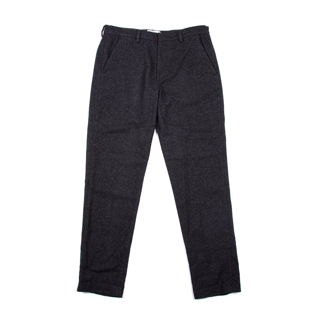 Folk - Counter Trouser - Charcoal Fleck
