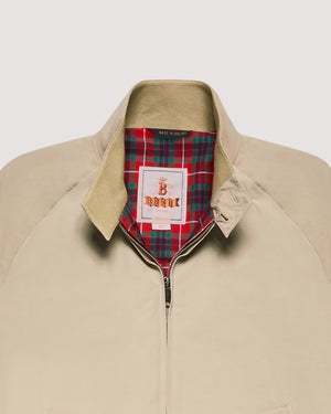 G9 Harrington Jacket - Natural