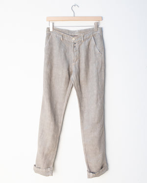 Heavy Linen Workwear Trousers - Rigging