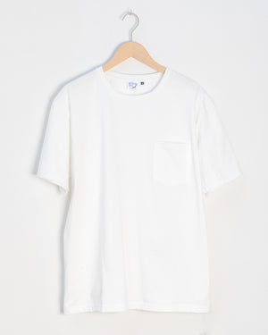 Heavy Pocket T-Shirt - White