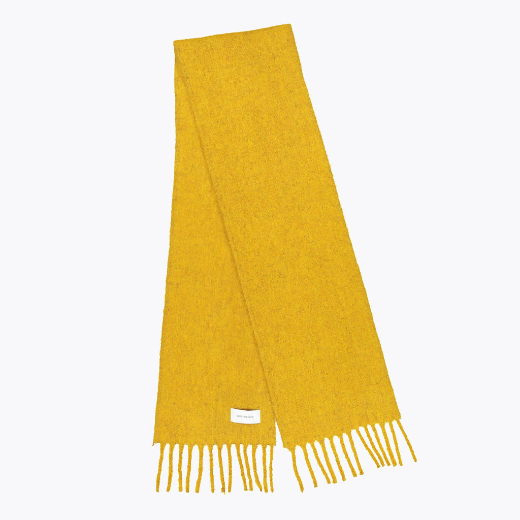Holzweiler - Aster Solid Scarf - Giallo