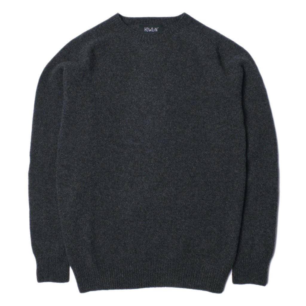 Howlin' - Campbell Cashmere Jumper - Charcoal
