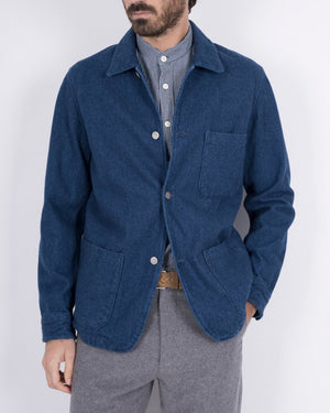 Labura Brushed Denim - Navy