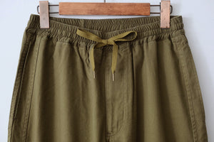 Line Easy Pants - Olive Green