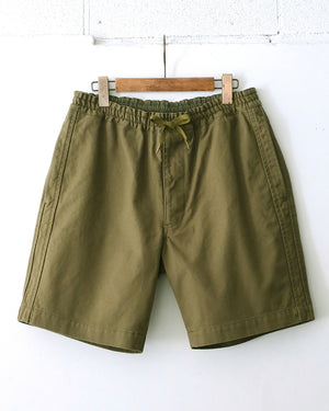 Line Easy Shorts - Olive Green