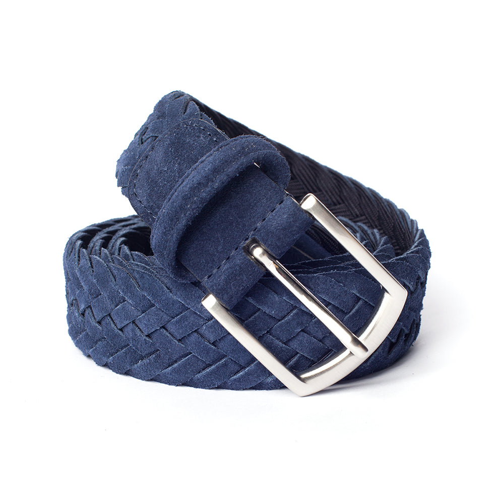 Anderson's - Stretch Belt - Navy