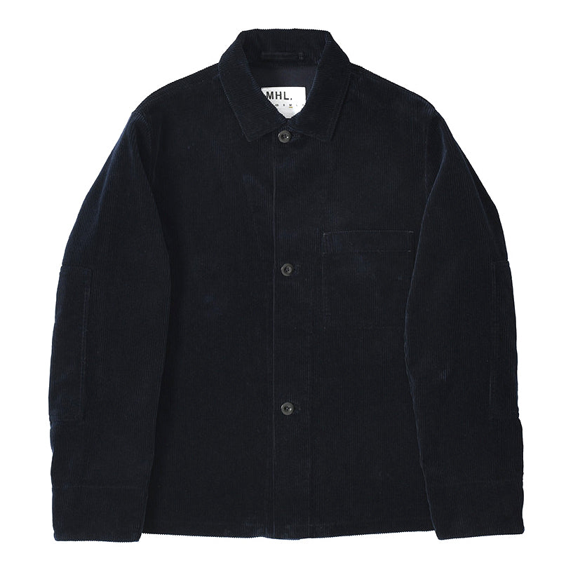 Margaret Howell MHL - Button Jacket Heavy Corduroy - Midnight