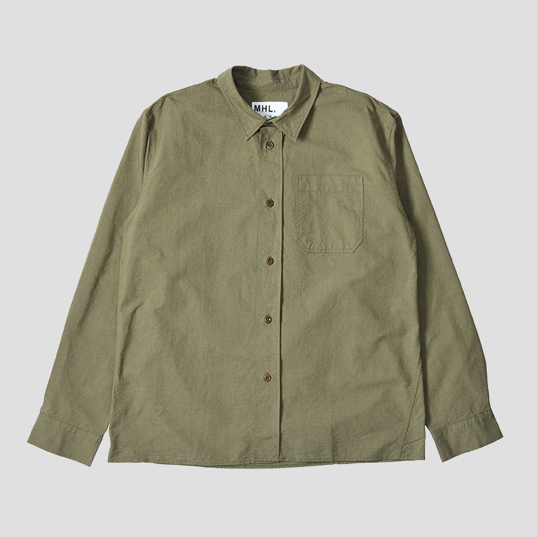 Margaret Howell MHL - Painters Shirt - Olive
