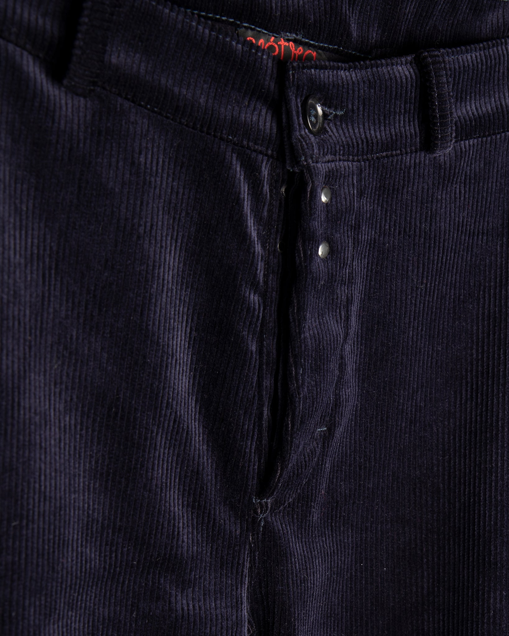 Medium Wale Cord Trousers - Navy