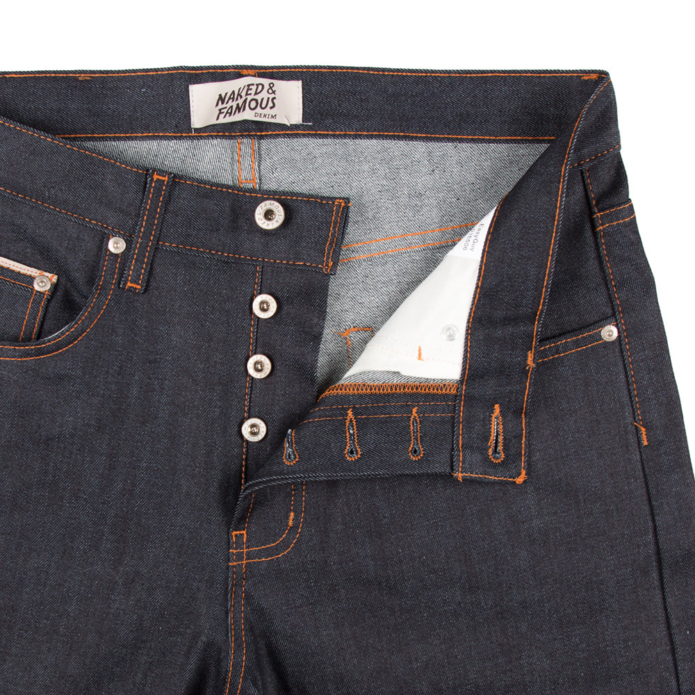 Naked & Famous Denim- Jeans - Easy Guy - 11oz Stretch Selvedge