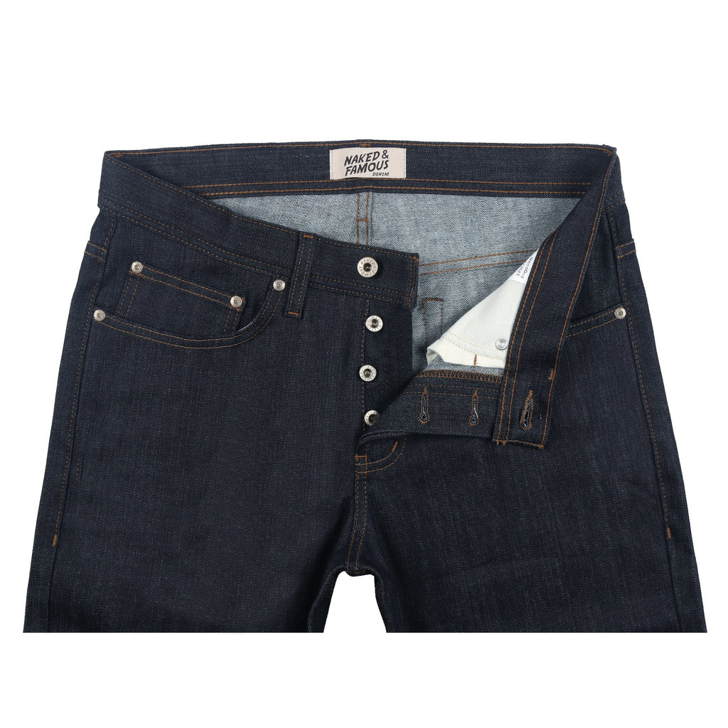 Naked & Famous Denim - Weird Guy - Cashmere Stretch Blend Denim