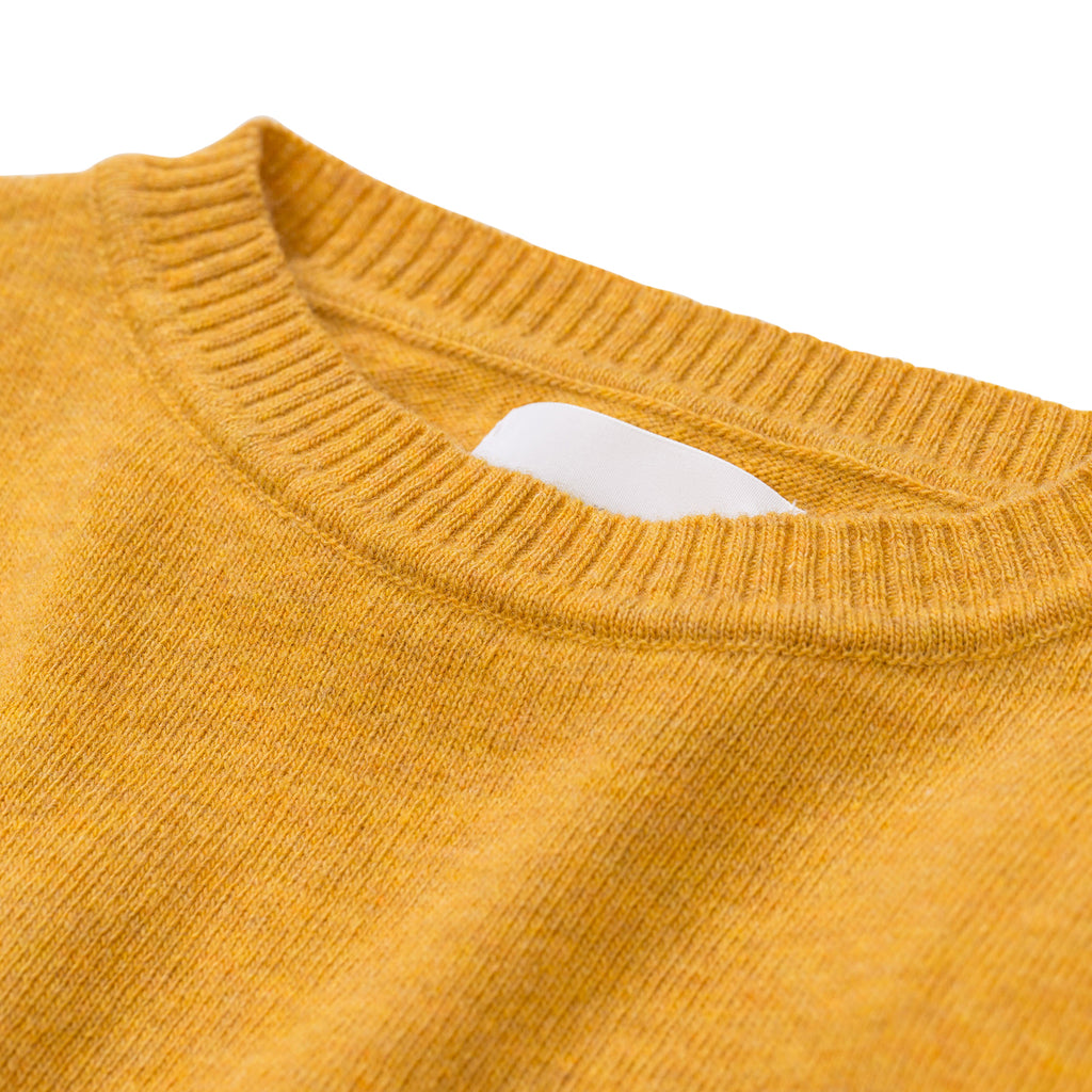 Norse Projects - Sigfred Light Wool - Sunwashed Yellow