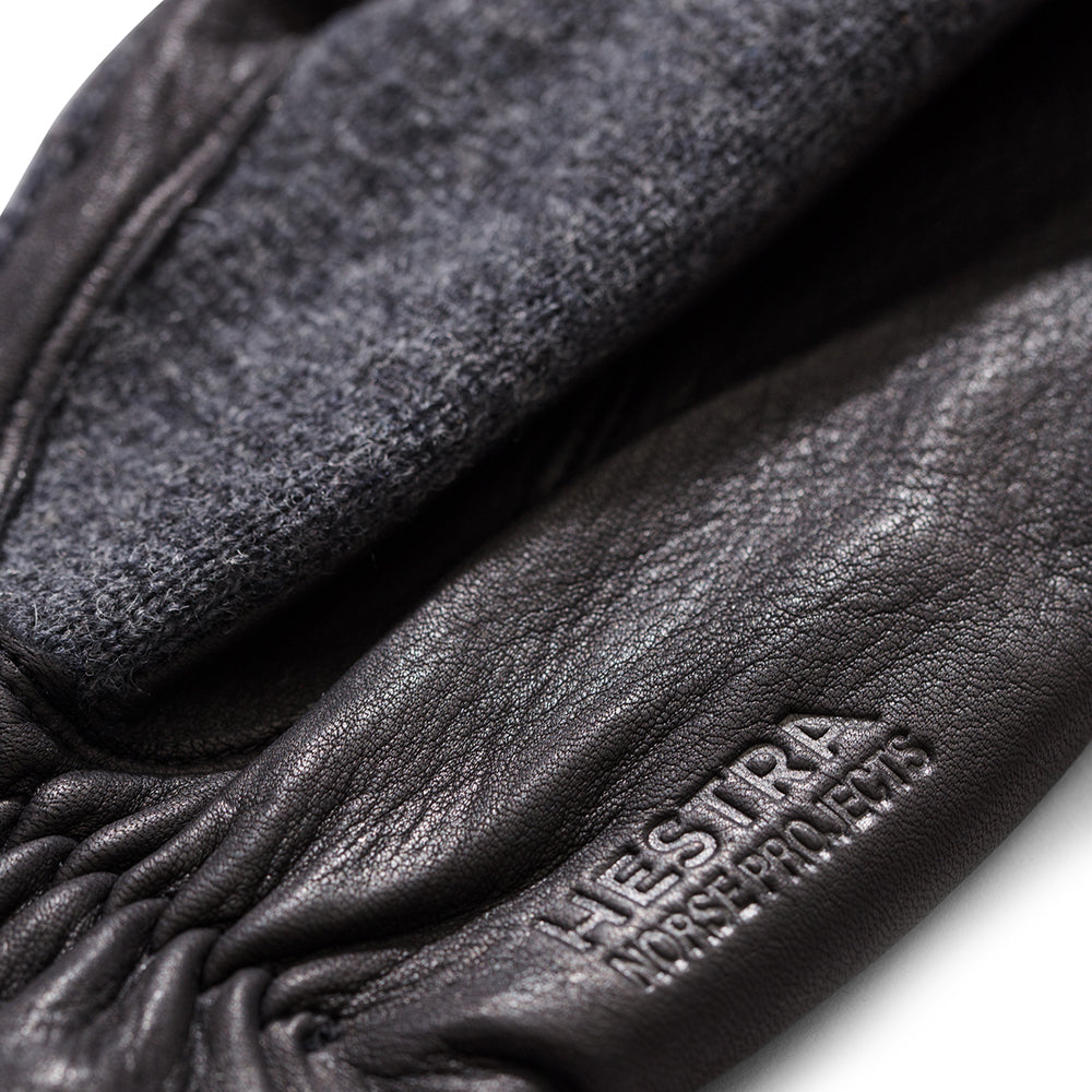 Norse Projects x Hestra - Svante Gloves - Charcoal