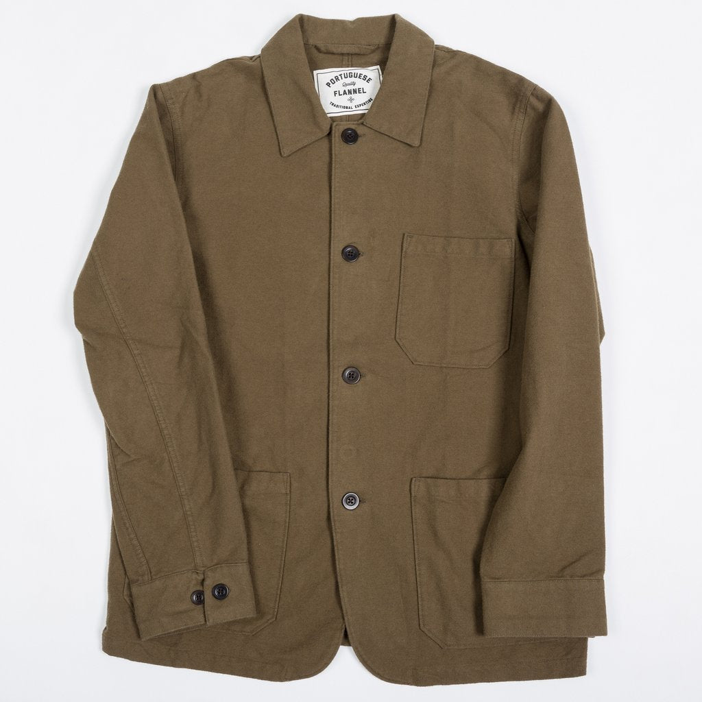 Portuguese Flannel - Pinheiro Jacket - Olive