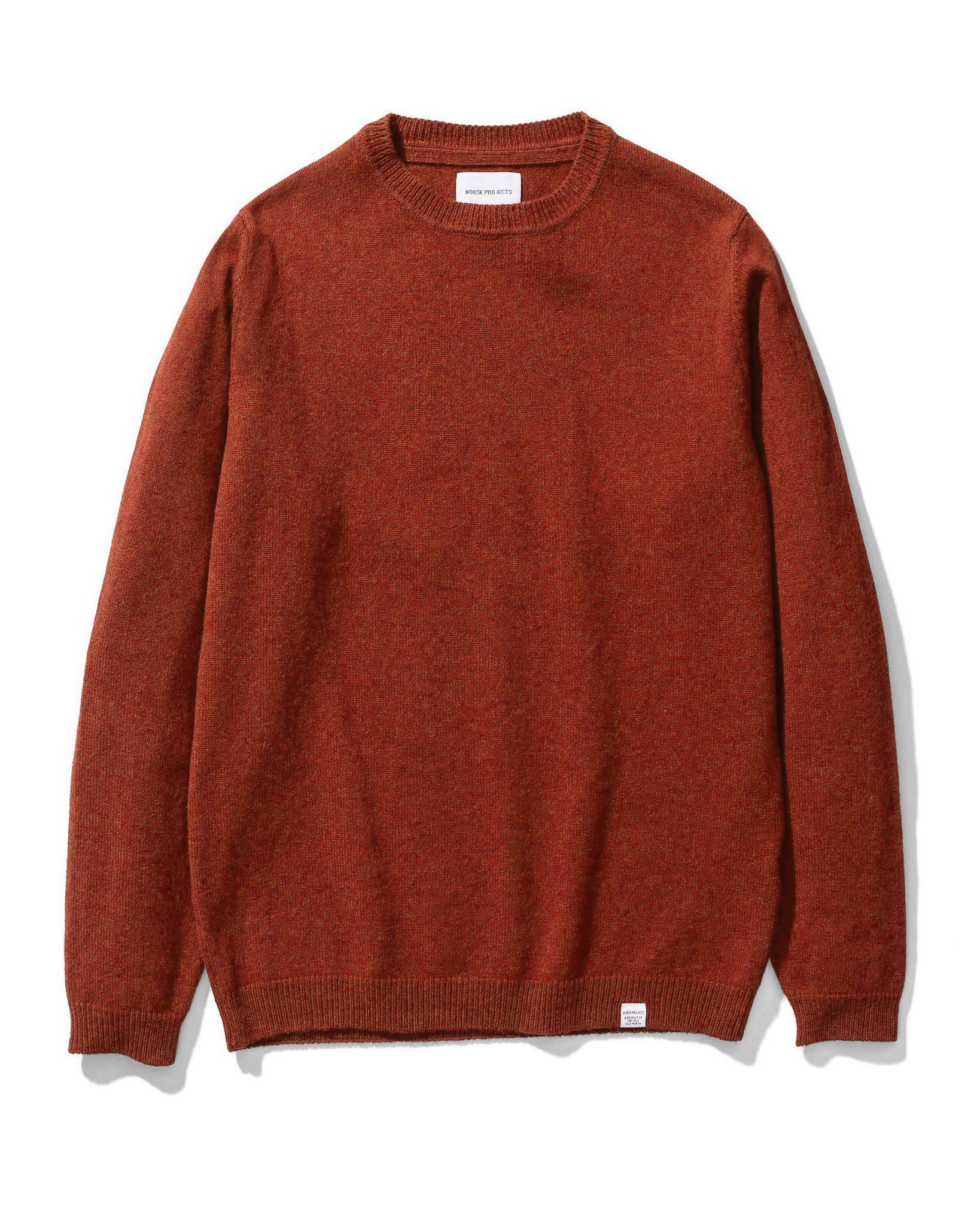 Sigfred Lambswool - Carmine Red