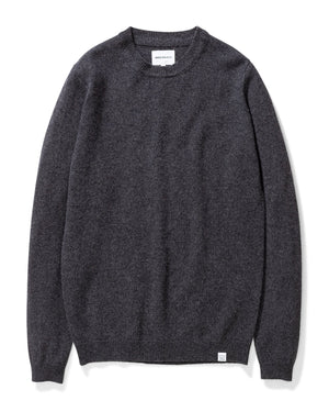 Sigfred Lambswool - Charcoal Melange