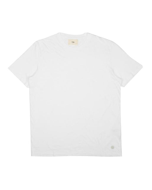 Slub Assembly Tee - White