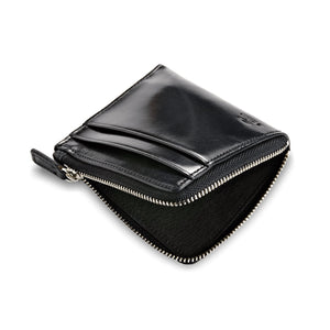 Small Zippy Wallet - Black