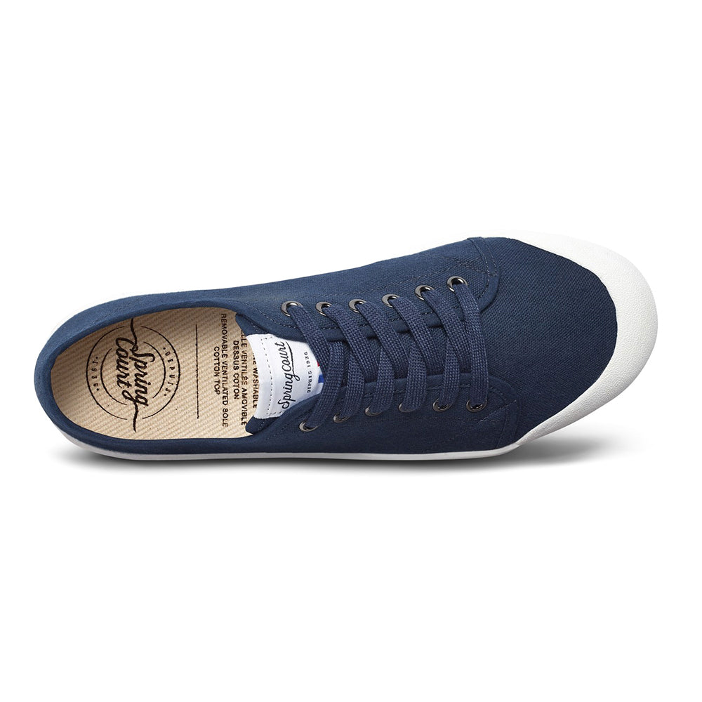 Spring Court - G2 Classic Canvas Sneakers - Midnight Blue