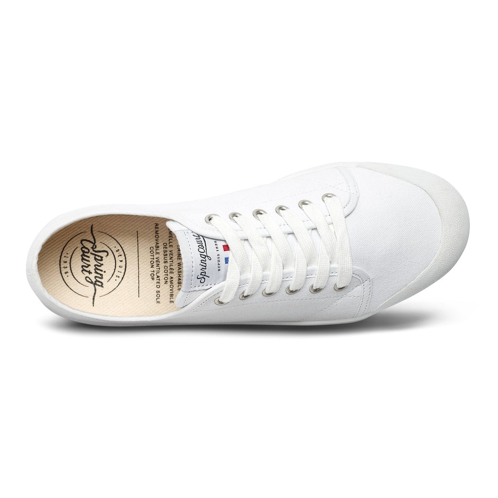 Spring Court - G2 Classic Canvas Sneakers - White