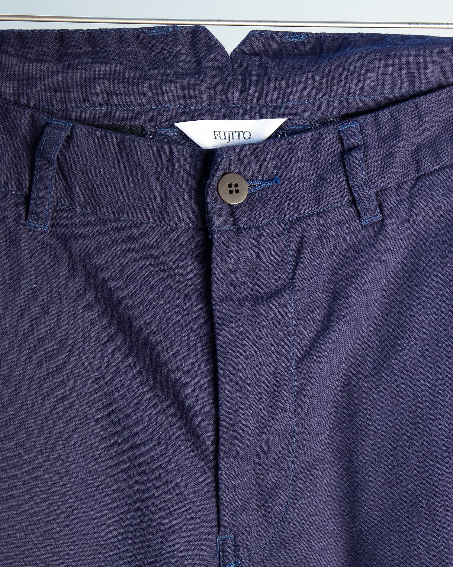 Tapered Pants - Navy