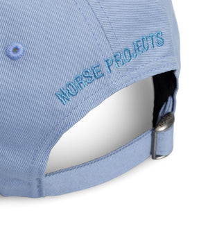 Twill Sports Cap - Clouded Blue