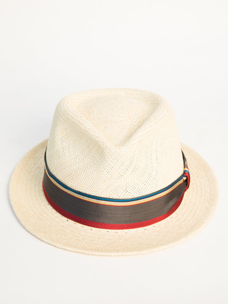 câbleami - Panama Hat With Ribbon - Multicolor