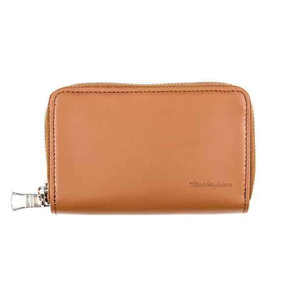 Plain Small Zipped Wallet