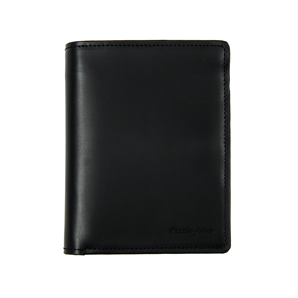 Master-Piece Plain Big Wallet - Black