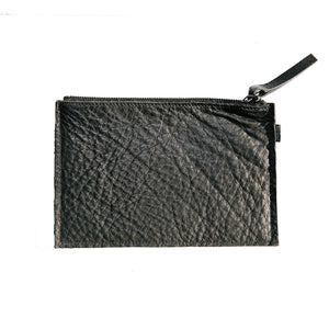 Leather Pouch - Black Leather