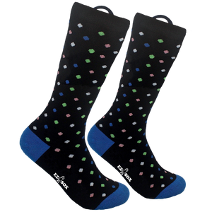 Black Polkadots Socks