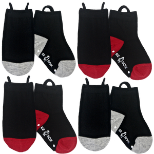 Black Socks-4pk