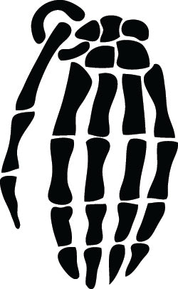 Hand Bone Specialty Vinyl Decals-Stickers