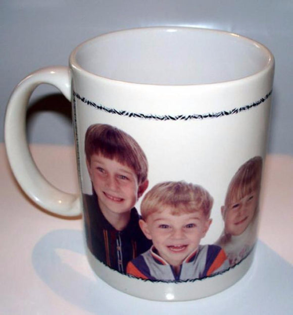 Design Your Own Personalized Photo Coffee Mug-11 ounce