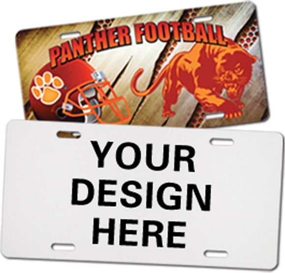 DESIGN YOUR OWN PERSONALIZED AND CUSTOM LICENSE PLATES
