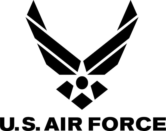 Air Force Military Pride Die-Cut Vinyl Decals-Stickers