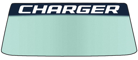 Charger Vinyl Windshield Banner