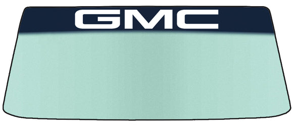 GMC Vinyl Windshield Banner