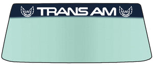 Trans Am Vinyl Windshield Banner