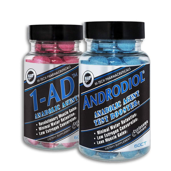 Hi-Tech Pharmaceuticals 1AD, Androdiol Stack Sports Nutrition Hi-Tech Pharmaceuticals  (1549172604951)