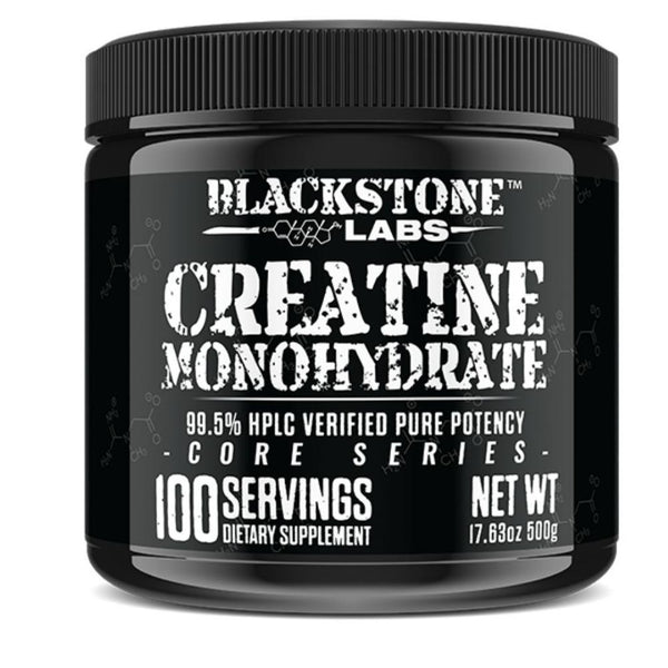 Blackstone Labs Creatine Monohydrate 100 Servings 500 Grams Amino Acids Blackstone Labs