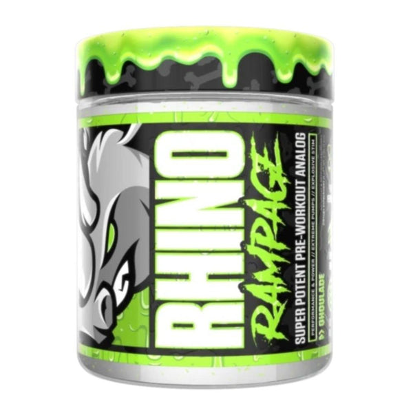 Muscle Sport Rhino Rampage 30 Servings Pre-Workouts Muscle Sport Ghoulade  (4357750128663)