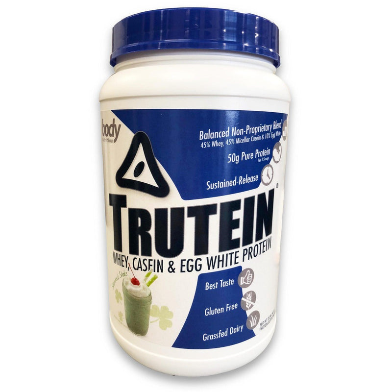 Body Nutrition Trutein 2 Lbs Protein/Protein Blends Body Nutrition Shamrock Shake  (10944472387)