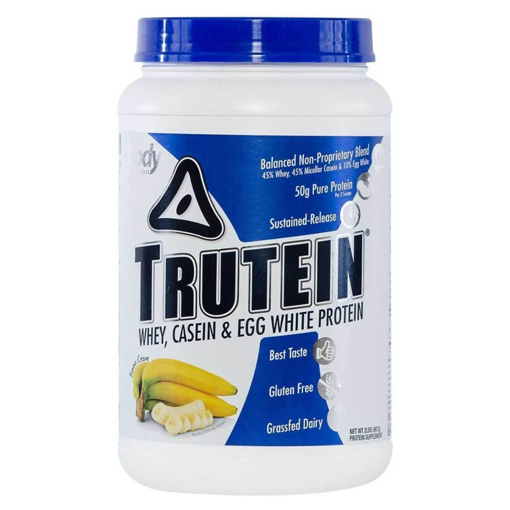 Body Nutrition Trutein 2 Lbs Protein Blends Banana Cream