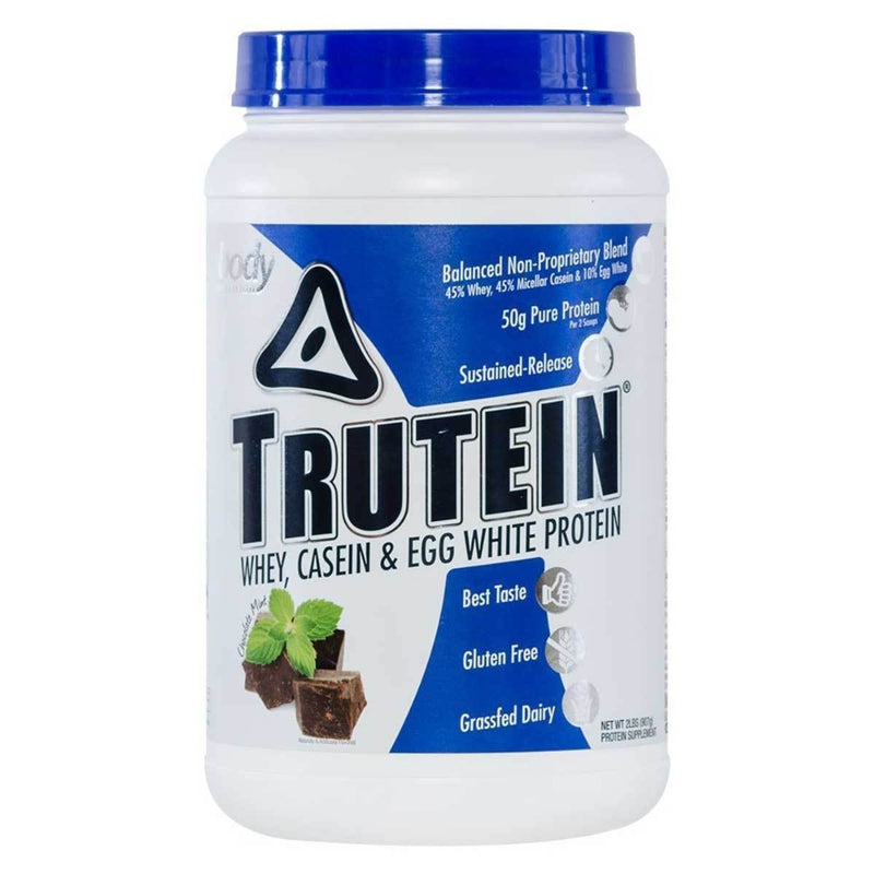 Body Nutrition Trutein 2 Lbs Protein/Protein Blends Body Nutrition Chocolate Mint  (10944472387)